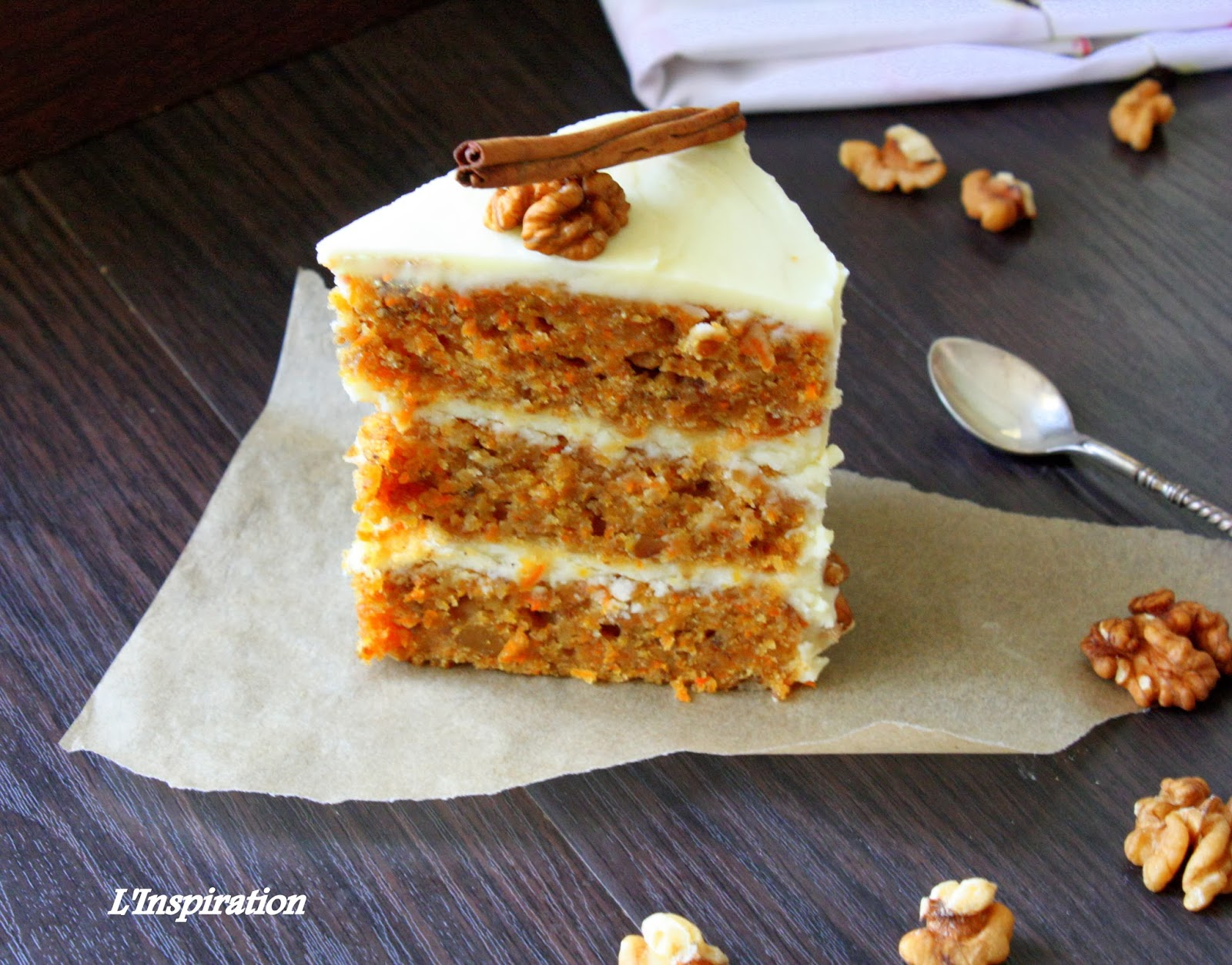 Рецепт торта морковного торта с фото